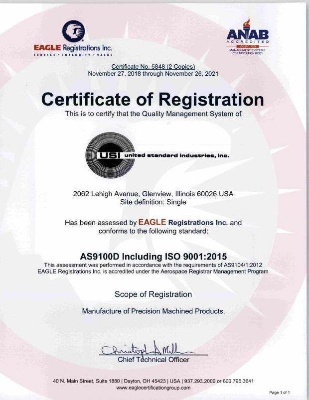 AS9100D_Certificate